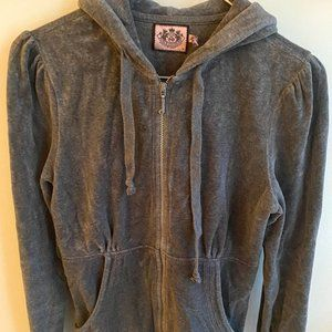 Juicy Couture Grey zip up